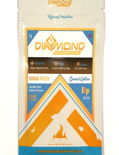Cannabis Shatter Durban Poison Diamond Concentrates (1g)