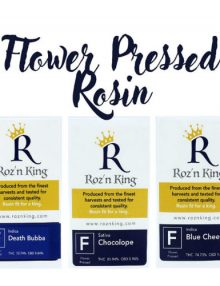 Blue Cheese Cannabis Rosin Flwer Pressed