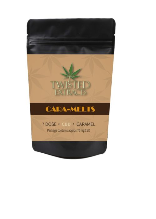 Cannabis Twisted Extracts CBD Cara-Melts