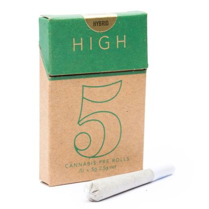 Cannabis Do-Si-Purps Hybrid High 5 Pre-Rolls
